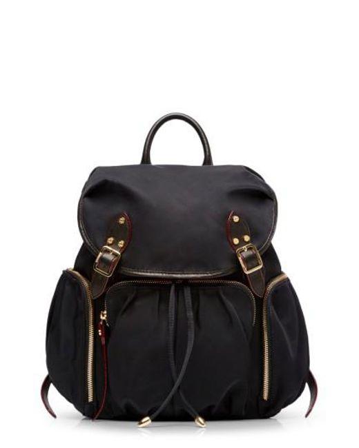 MZ Wallace | Black 'marlena' Bedford Nylon Backpack | Lyst