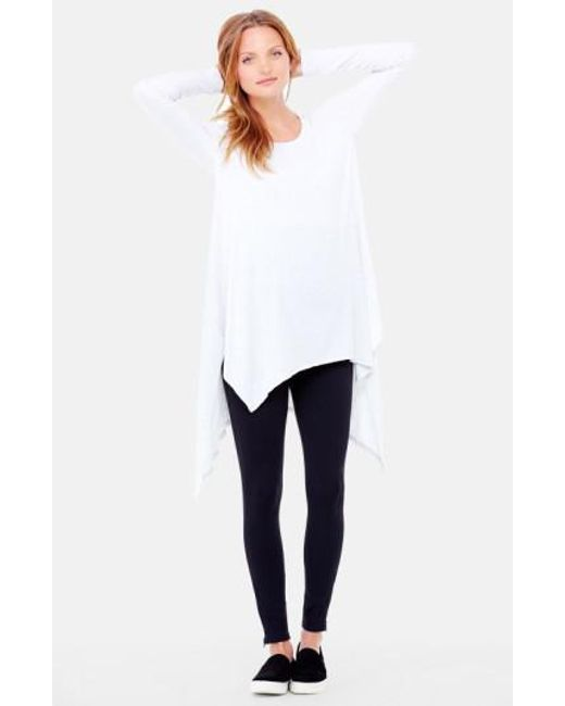 Ingrid & Isabel | White Handkerchief Maternity Tunic Top | Lyst