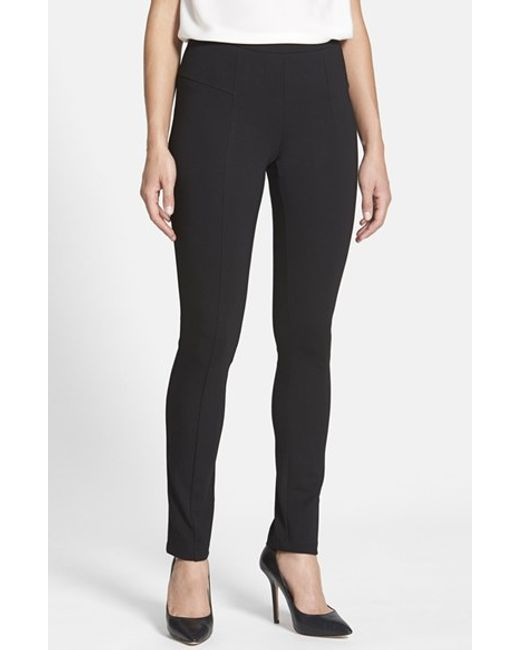 NIC+ZOE | Black 'the Perfect Ponte' Pants | Lyst