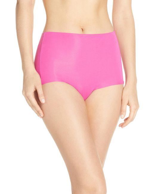8bf50d76c3 Wacoal - Pink Beyond Naked High Waist Briefs - Lyst