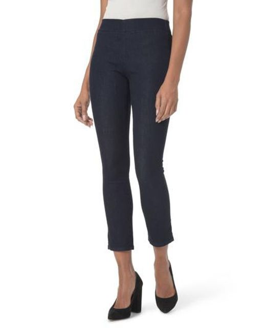 NYDJ | Blue Alina Pull-on Ankle Skinny Jeans | Lyst