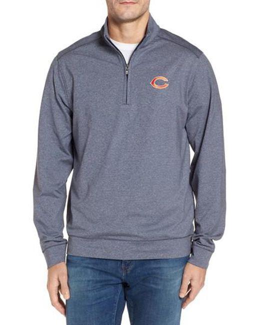 Cutter & Buck | Blue Bears Shoreline Quarter Zip Pullover for Men | Lyst