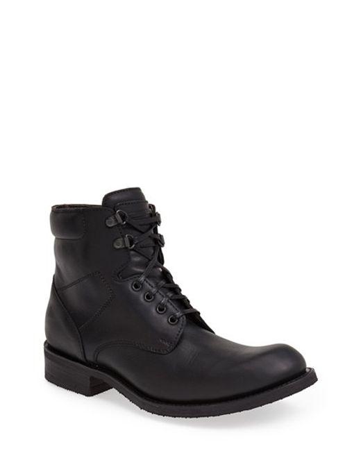 Sendra | Black 'traveler' Round Toe Boot for Men | Lyst