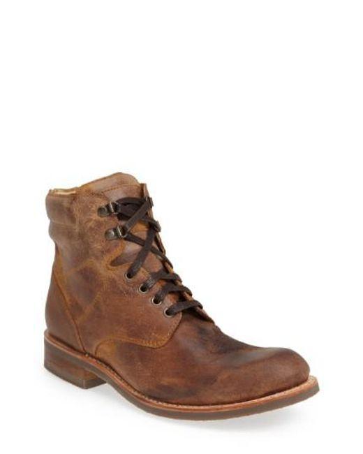 Sendra | Natural 'traveler' Round Toe Boot for Men | Lyst