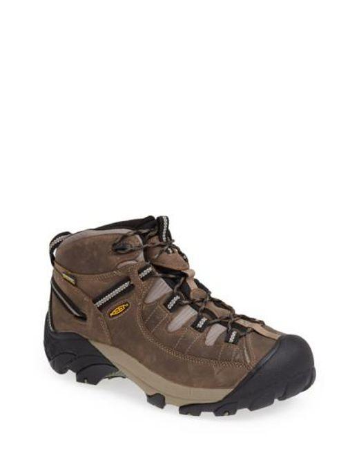 Keen | Natural 'targhee Ii Mid' Hiking Boot for Men | Lyst