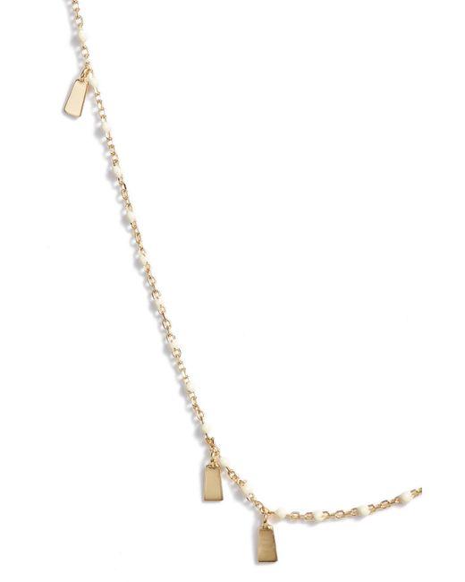 Argento Vivo - Metallic Enamel Station Necklace - Lyst