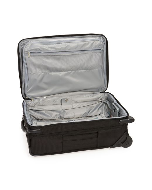 Briggs & Riley Black 'baseline' Domestic Expandable Rolling Carry-on