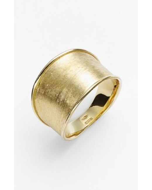 Marco Bicego | Metallic 'lunaria' Band Ring | Lyst