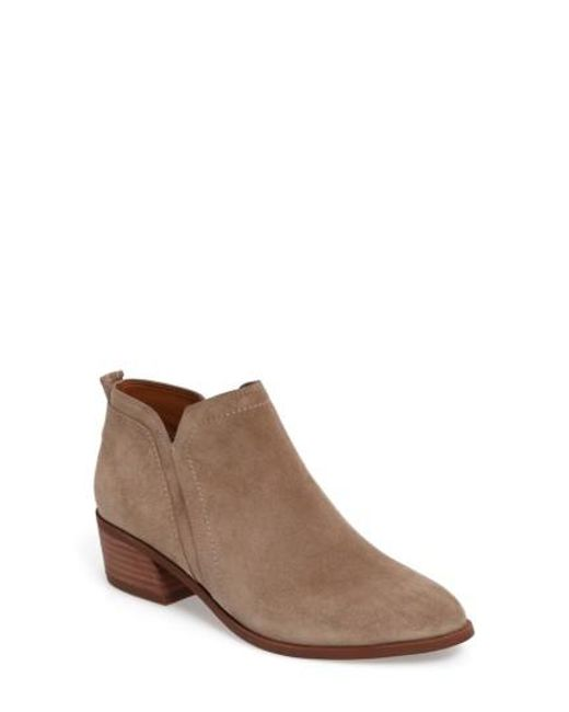 Sarto | Brown Paivley Bootie | Lyst