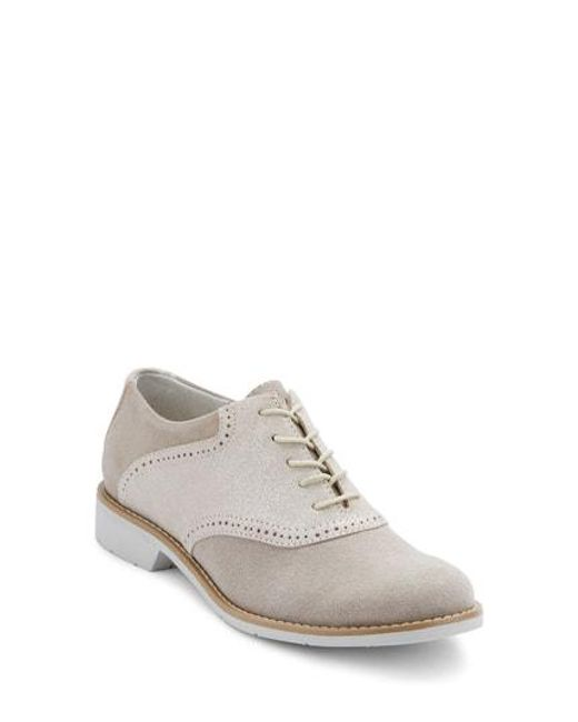 G.H.BASS - Gray G.h. Bass And Co. Dora Lace-up Oxford for Men - Lyst