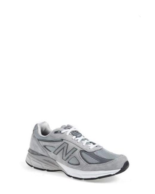 New Balance | Gray '990' Running Shoe for Men | Lyst