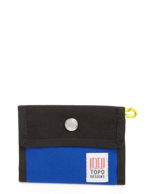 Topo Designs - Black Snap Wallet for Men - Lyst