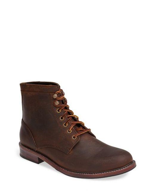 Eastland | Brown 'elkton 1955' Plain Toe Boot for Men | Lyst