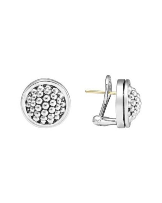 Lagos | Metallic Caviar Stud Earrings | Lyst