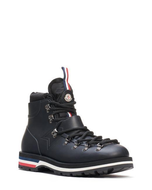 Moncler Black Henoc Boot for men
