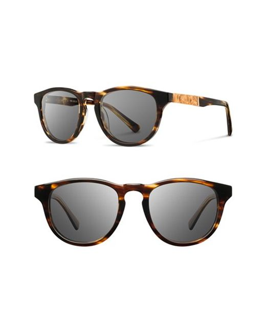 Shwood | Brown 'francis' 49mm Sunglasses for Men | Lyst
