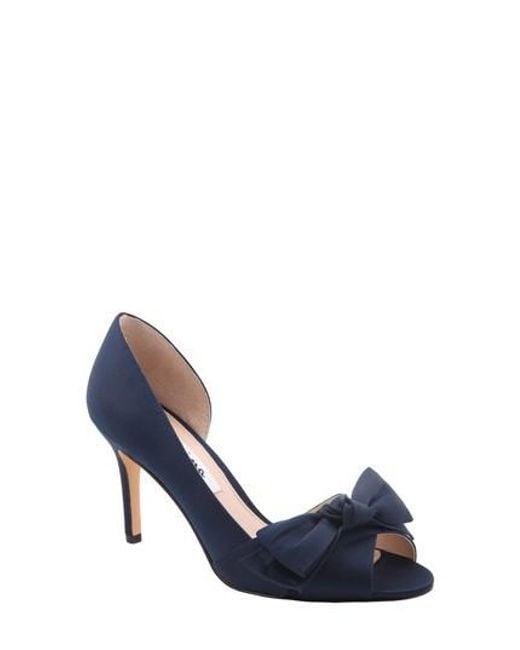 NINA Women's Forbes Ii Peep Toe Pump XQ3tSfK