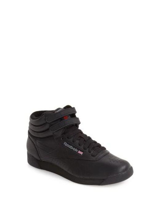 6bde89155b9e Lyst - Reebok  freestyle Hi  Sneaker in Black for Men