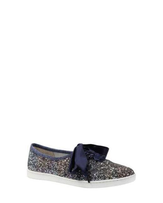 J. Reneé   Blue Shimmo Bow Sneaker   Lyst