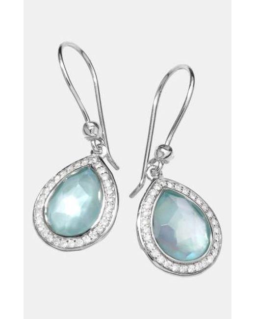 Ippolita | Metallic 'stella' Small Teardrop Earrings | Lyst