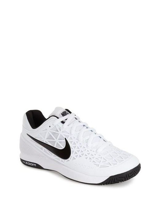 Nike | White 'zoom Cage 2' Tennis Shoe for Men | Lyst