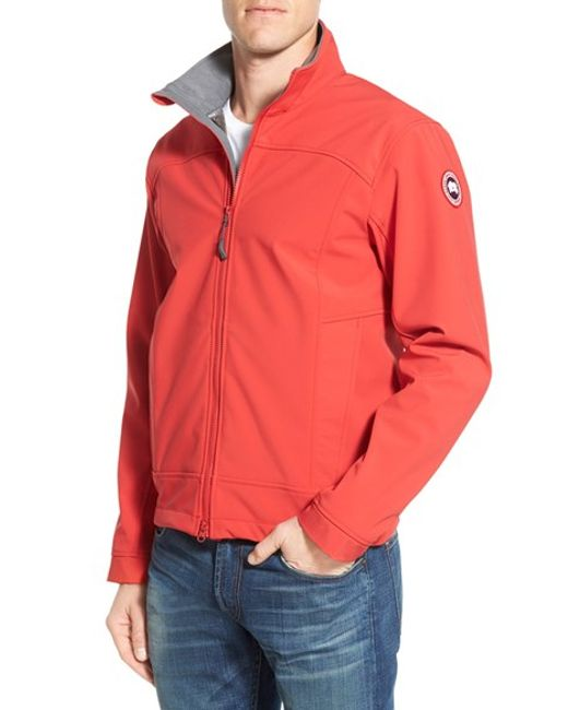 Bracebridge (ON) Canada  city photo : Canada goose 'bracebridge' Water Resistant Jacket in Red for Men RED ...