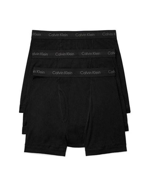 Calvin Klein | 2-pack Boxer Briefs, Black for Men | Lyst
