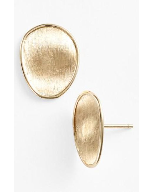 Marco Bicego | Yellow 'lunaria' Stud Earrings | Lyst