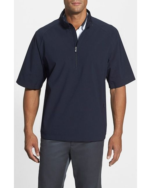 Cutter & Buck | Blue 'weathertec Summit' Short Sleeve Shirt for Men | Lyst