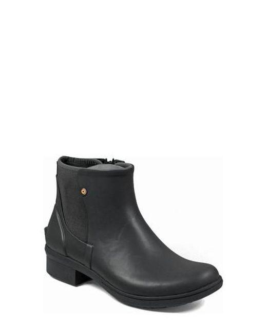 Bogs | Black Auburn Insulated Waterproof Boot | Lyst