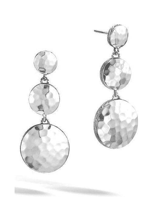 John Hardy | Metallic 'dot' Drop Earrings | Lyst