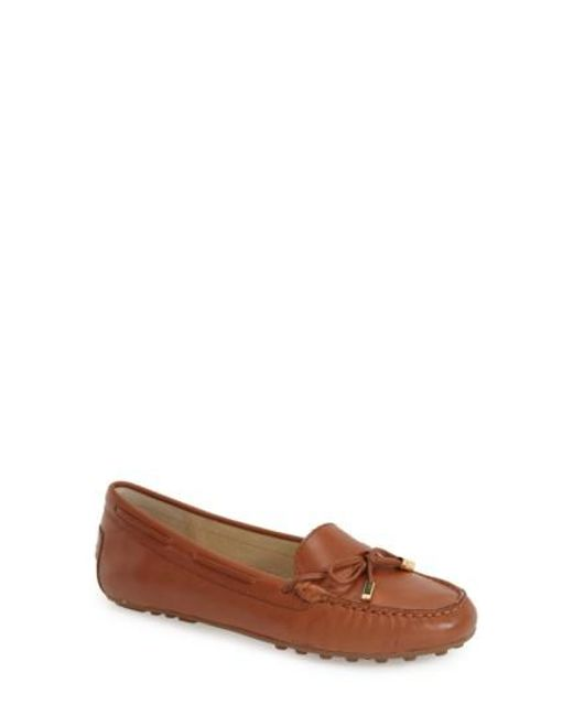 MICHAEL Michael Kors | Brown 'daisy' Loafer | Lyst