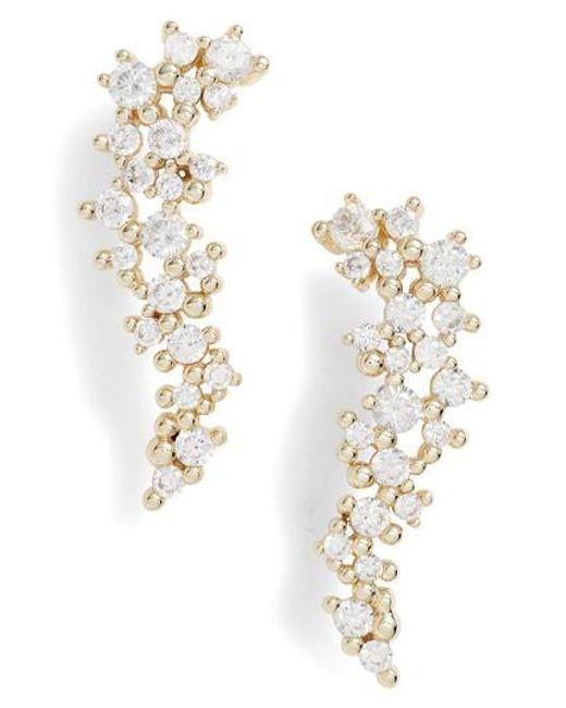 Kendra Scott - Metallic Petunia Drop Earrings - Lyst