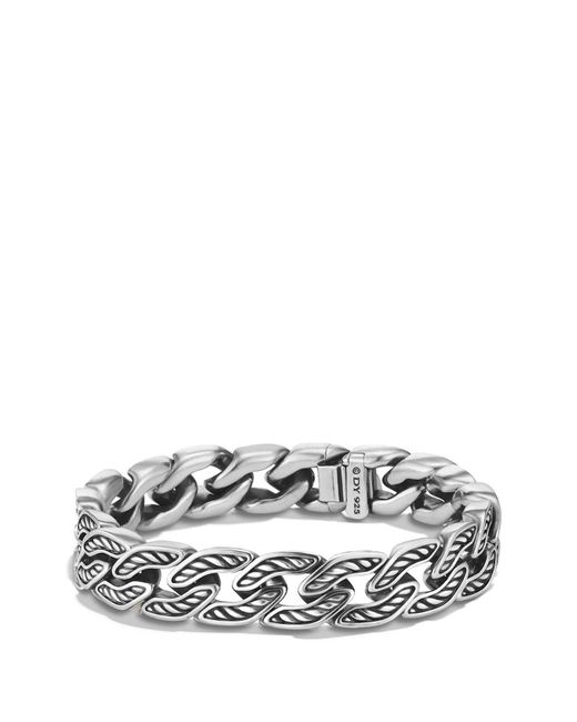 David Yurman - Metallic Maritime Curb Link Bracelet for Men - Lyst