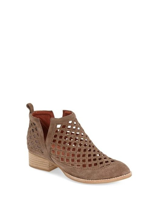 Jeffrey Campbell | Brown Taggart Suede Ankle Boots | Lyst