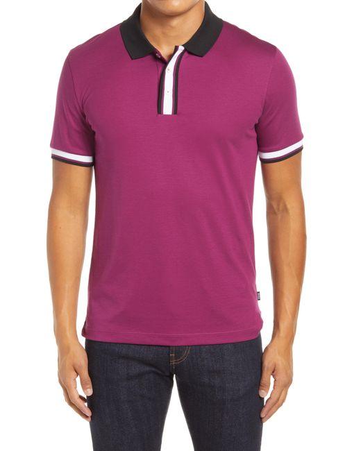 BOSS by Hugo Boss Purple Phillipson Polo Shirt for men