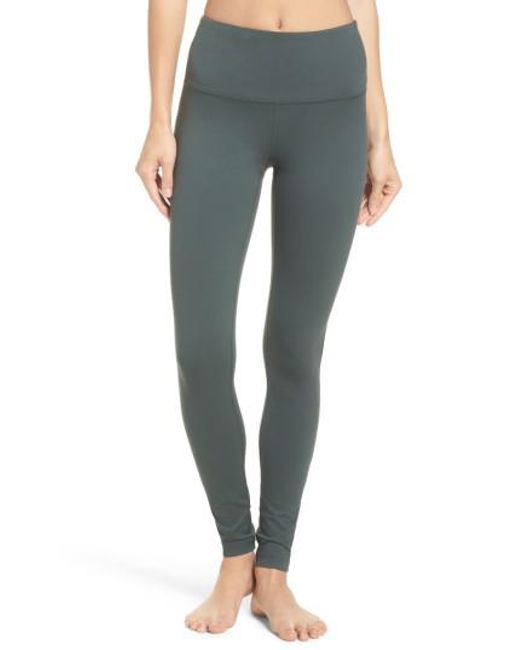 Zella | Gray Live In High Waist Leggings | Lyst