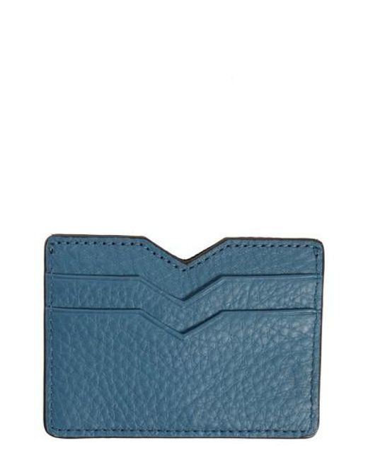 Mackage - Pink Wes Leather Card Case - Lyst