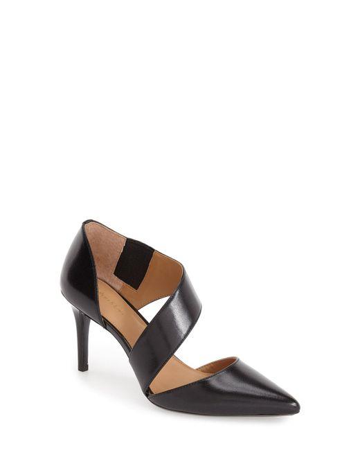 Calvin Klein - Black 'Gella' Pointy Toe Pump - Lyst