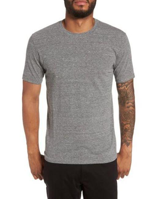 Goodlife | Gray Crewneck T-shirt for Men | Lyst