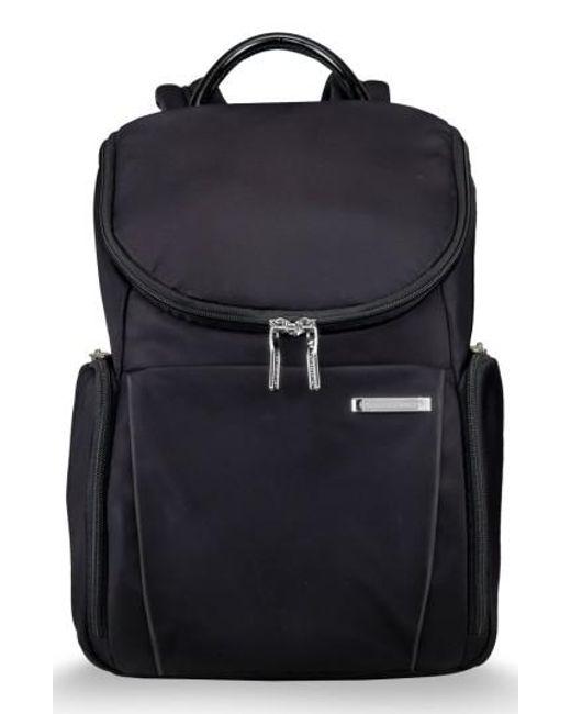 Briggs & Riley - Blue Sympatico Nylon Backpack for Men - Lyst
