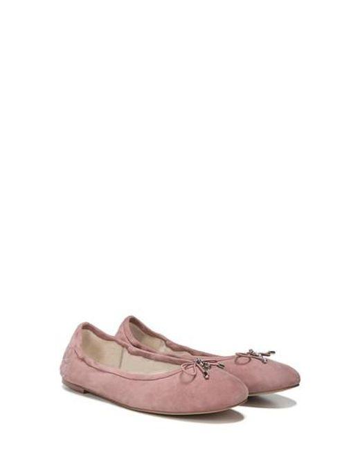 Sam Edelman - Pink 'felicia' Flat - Lyst