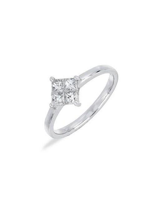 Bony Levy   Multicolor Princess Diamond Ring (nordstrom Exclusive)   Lyst