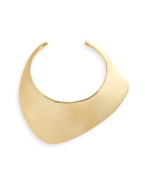 Charlotte Chesnais | Natural Large Ada Cuff Bracelet | Lyst