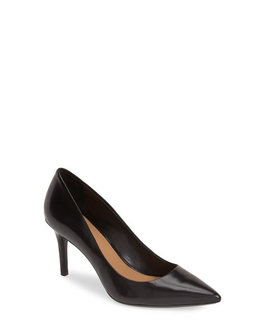 Calvin Klein - Natural Gayle Pointed-Toe Pumps - Lyst