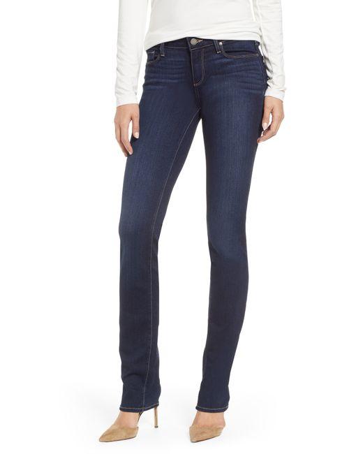 PAIGE Blue Skyline Skinny Jeans