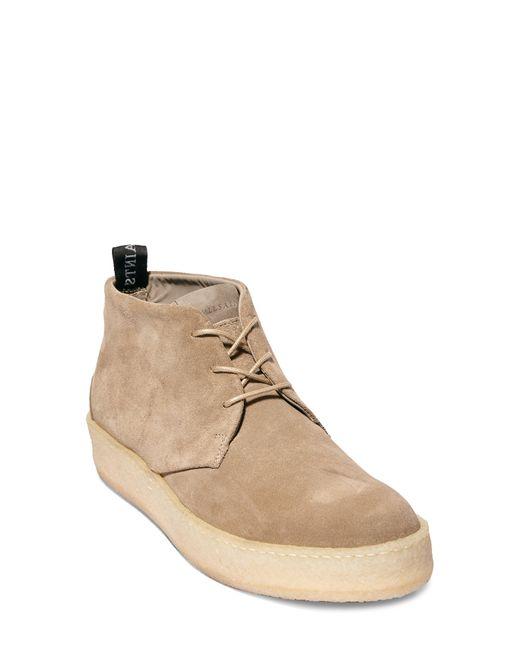 AllSaints Brown Kit Chukka Sneaker for men