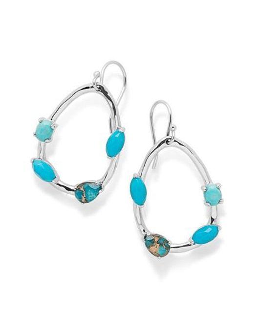 Ippolita | Blue Rock Candy Drop Earrings | Lyst