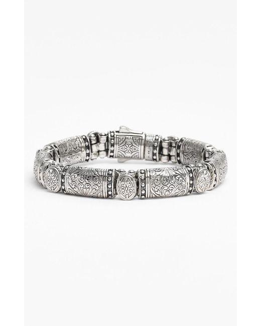 Konstantino - Metallic 'classics' Bar Line Bracelet - Lyst