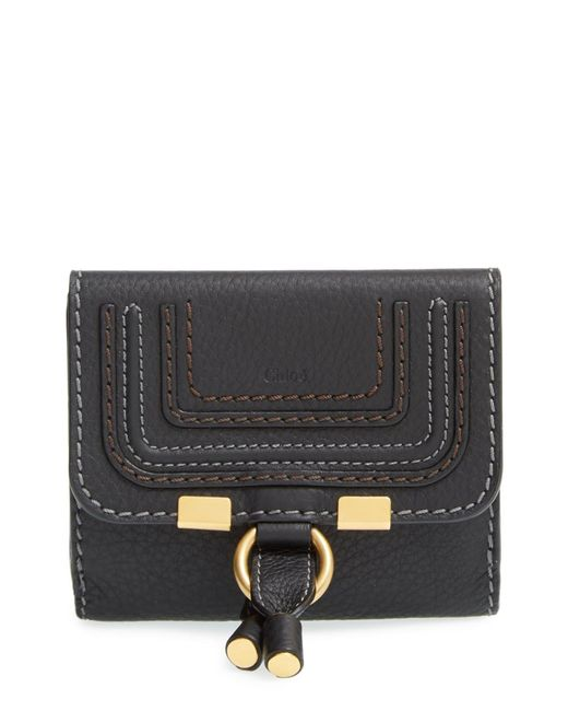 Chloé Gray Chloé 'marcie' French Wallet